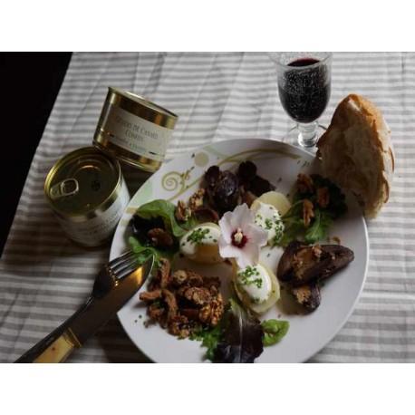 Mélanges confits pour Salade Gasconne
