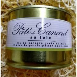 Pâté de canard au foie ( 30% de foie gras)    (Franco de port dès 30€ d'achat)