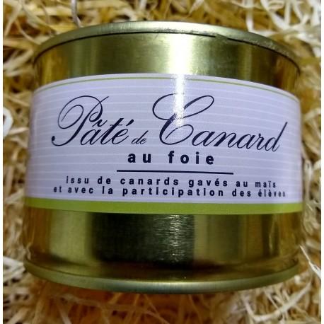Pâté de canard au foie ( 30% de foie)