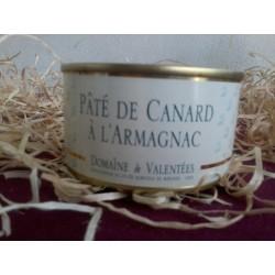 Pâté de canard à l'Armagnac                                (Franco de port dès 30€ d'achat)