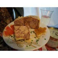 Pâté de canard au foie ( 30% de foie gras) 125 g
